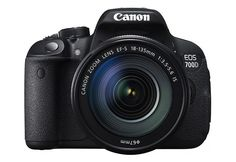 Canon EOS 700D KIT 18.0 MP CMOS DSLR Camera With EF-S 18-135mm Lens