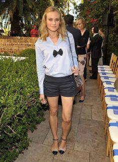 Diane Kruger - cute little bow