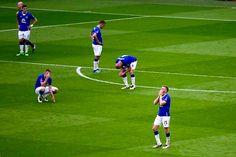 Heartbreak for Everton
