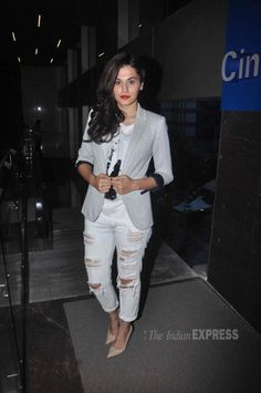 Taapsee Pannu at the 17th MAMI Film Festival. #Bollywood #MAMI2015 #Fashion…