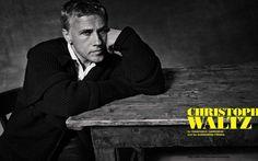 Christoph Waltz para L'Uomo Vogue Noviembre 2015