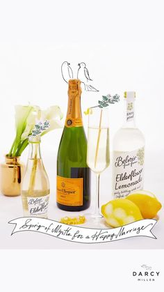 Royal wedding inspired lemon and elderflower champagne cocktail | Darcy Miller #royalty #sparklingwine #cocktailidea #spring #celebration #entertaining #stgermain #belvoir #bridal #inspiration #love #romance #idea #easy #bar #myrtle Elderflower Champagne, Champagne Cocktail, Sparkling Wine, Easy Bar, Seasonal Celebration, Wedding Table Settings, Cocktails, Drinks, Wedding Party Favors