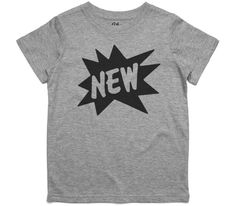 El Cheapo N E W (Black) Youth Grey Marle T-Shirt