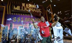 Who knew purchasing a t-shirt from Changi Airport could turn you into a millionaire?