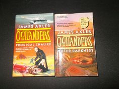 2 James Axler Outlanders PB Books Prodigal Chalice Outer Darkness First Edition