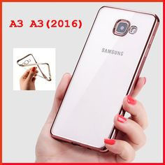 A 3 back cover case for samsung galaxy A3 A310 2016 soft clear tpu original coque for samsung a3 A310 2016 cases cell phone