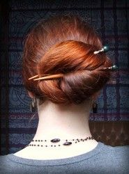 To try when my new hair sticks arrive...