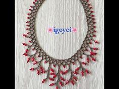 Beaded Jewelry Patterns, Beading Patterns, Brick Stitch Earrings, Beaded Necklace, Beaded Bracelets, Necklace Tutorial, Bracelet Crafts, Beaded Bags, Bead Jewellery