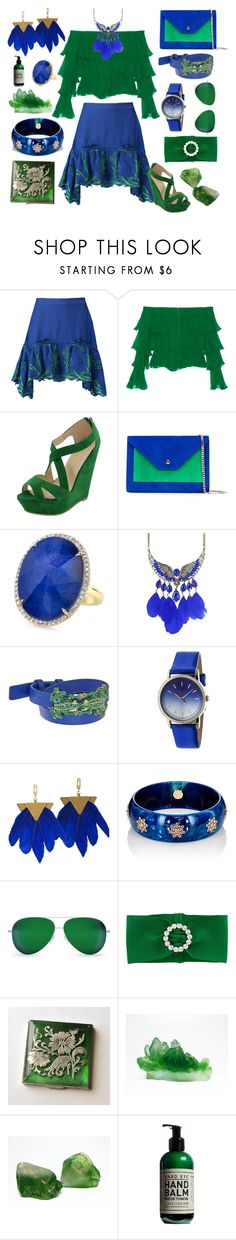 """Flow"" by yournightnurse ❤ liked on Polyvore featuring Roberto Cavalli, Balmain, Casadei, Tory Burch, Boum, Mark Davis, Victoria Beckham, Alessandra Rich and Yard Etc"