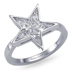 star kite diamond ring with this sensational star engagement