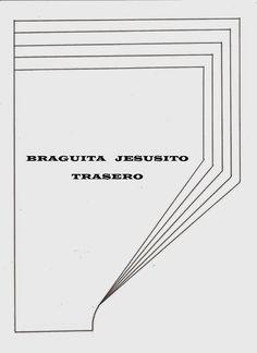 Sewing Set: PATRONES 10: BRAGUITA JESUSITO
