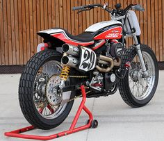 All things custom motorcycles harley davidson choppers and bobbers Tracker Motorcycle, Motorcycle News, Scrambler Motorcycle, Bobber, Harley Davidson Chopper, Harley Davidson Motorcycles, Custom Motorcycles, Cars And Motorcycles, Street Tracker