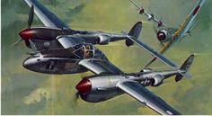 revell P-38J Bong's 'Marge' 1970
