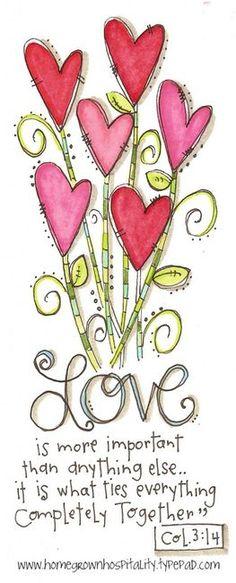 Colossians Love this scripture Scripture Art, Bible Art, Bible Quotes, Bible Verses, Wedding Scripture, Love Scriptures, Bibel Journal, Word Of God, Gods Love