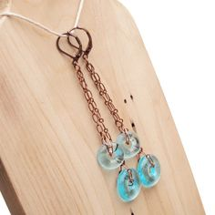 Bombay Sapphire Earrings