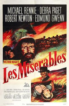Les Misérables (1952)   Movie Poster