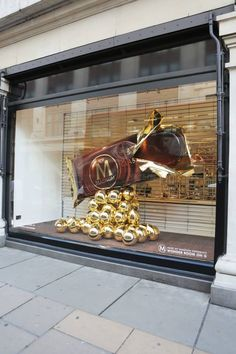 Vitrine Magnum na Selfridges da Oxford Street, Londres. Hummm... deu até água na boca