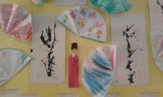 Japonské umění - práce dětí všech věkových skupin