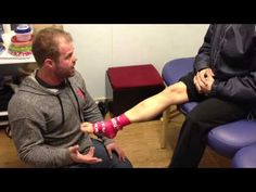 Ankle compression demo with voodoo x band - YouTube
