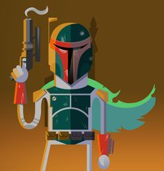Boba Fett /// by Jason Custer
