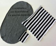DIY: Rusettipipo - Punatukka ja kaksi karhua Couture, Baby Hats, Sewing, Kids, Clothes, Baby Sewing, Modeling, Sewing Patterns Baby, Berets