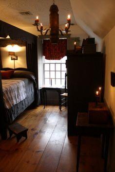 """""""love the floor - Primitive bedroom"""