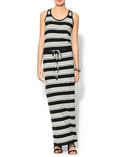 Hive & Honey Classic Stripe Maxi Dress | Piperlime