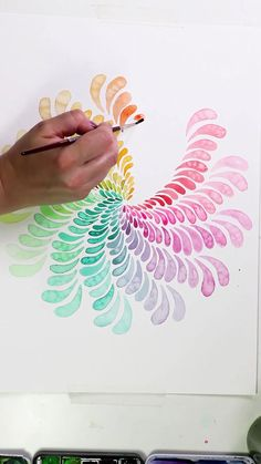 Watercolor Painting Supplies for Beginners by Josie Lewis Check out Josie's short tutorial for all the gear you will need to start watercolor painting! Watercolor Paintings Abstract, Painting & Drawing, Watercolor Mandala, Oil Paintings, Contemporary Abstract Art, Diy Canvas Art, Canvas Artwork, Art Tutorials, Painting Tutorials