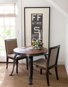 Dining small space