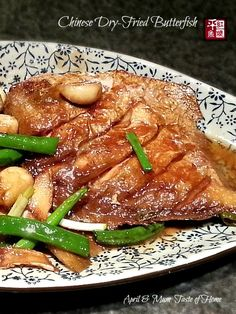 chinese braised butterfish