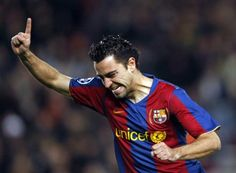 Xavi for Barca