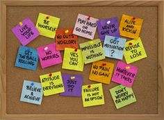 Positive phrases are easy to keep in mind when they're boiled down to a simple list. Use these top ten phrases to...