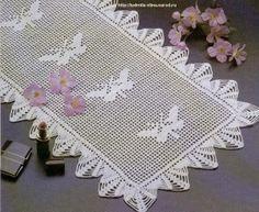 Free Crochet Thread Butterfly Patterns | crochet patterns | Free Crochet Patterns & Free Knitting Patterns ...