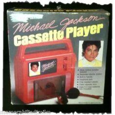 Michael Jackson Thriller Era Cassette Player!