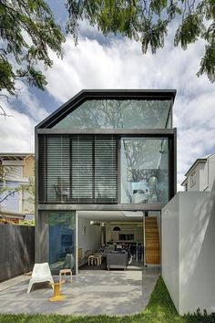 House with skillion roof