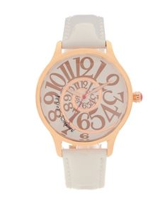 Betsy Johnson watch. This is way cool. I want!