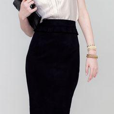 Chelsie Skirt Black