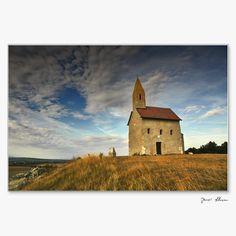 Slovakia, Dražovce - Church