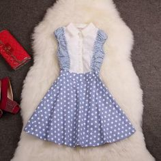 Fashion Polka Dot Dress