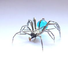 Watch Parts Spider Sculpture No 70 Recycled by amechanicalmind