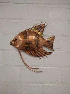 Metal Sculpture Artists, Metal Sculptures, Copper Wall Art, Copper Gifts, Home And Garden, Beautiful, Decor, Decoration, Decorating