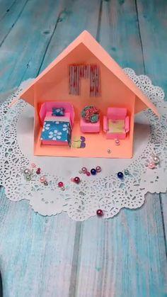 Diy Crafts Hacks, Diy Crafts For Gifts, Diy Arts And Crafts, Diy Crafts Videos, Fun Crafts, Creative Crafts, Craft Tutorials, Paper Crafts Origami, Paper Crafts For Kids