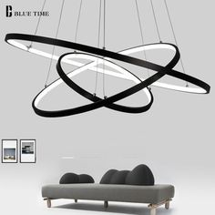 Dimmable chandelier Modern Lighting Acrylic Pendant Light with for Living Room Dining Room kitchen foyers, 3 Colors in one Lamp BLACK 3 Circles White Pendant Light, Modern Pendant Light, Pendant Light Fixtures, Ceiling Pendant, Ceiling Lamp, Pendant Lamp, Pendant Lighting, Ceiling Lights, Led Chandelier