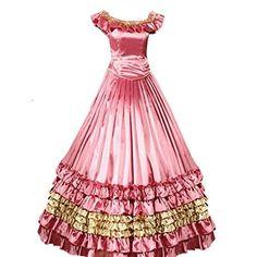 Partiss Women Bandage Ruffle Floor-length Gothic Victorian Dress, http://www.amazon.com/dp/B00INMTK30/ref=cm_sw_r_pi_awdm_0.bLvb154XMHX