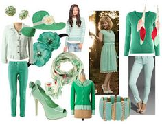 Fashion Color Trends #green #2012