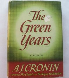The Green Years 1944 (11714-1361) vintage books