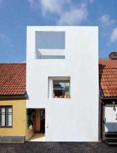 fachadas de casas minimalistas para terrenos pequenos