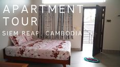 Hi travel friends! If somebody from you is going to be in Siem Reap Cambodia and do not know where to stay we made a video about our apartment. Safe travels! #backpacker #travel #backpacking #ttot #tent #traveling https://www.youtube.com/watch?v=6rQK6wLOF6k