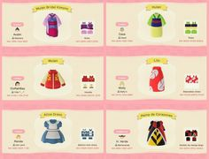 Mulan, Lilo, Alice, Queen of Hearts Animal Crossing 3ds, Animal Crossing Qr Codes Clothes, Motifs Animal, Animal Games, All About Animals, New Leaf, Queen Of Hearts, Alice In Wonderland, Wonderland Party