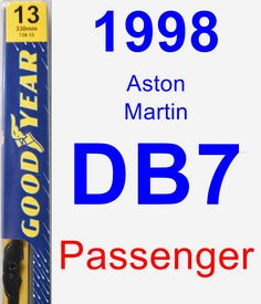 Passenger Wiper Blade for 1998 Aston Martin DB7 - Premium
